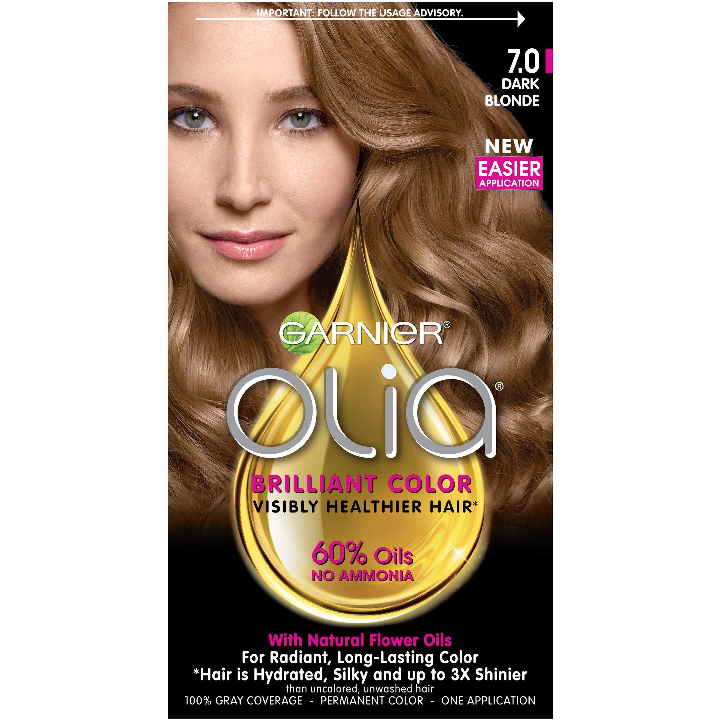 Amazon Garnier Olia Hair Color 70 Dark Blonde Ammonia Free
