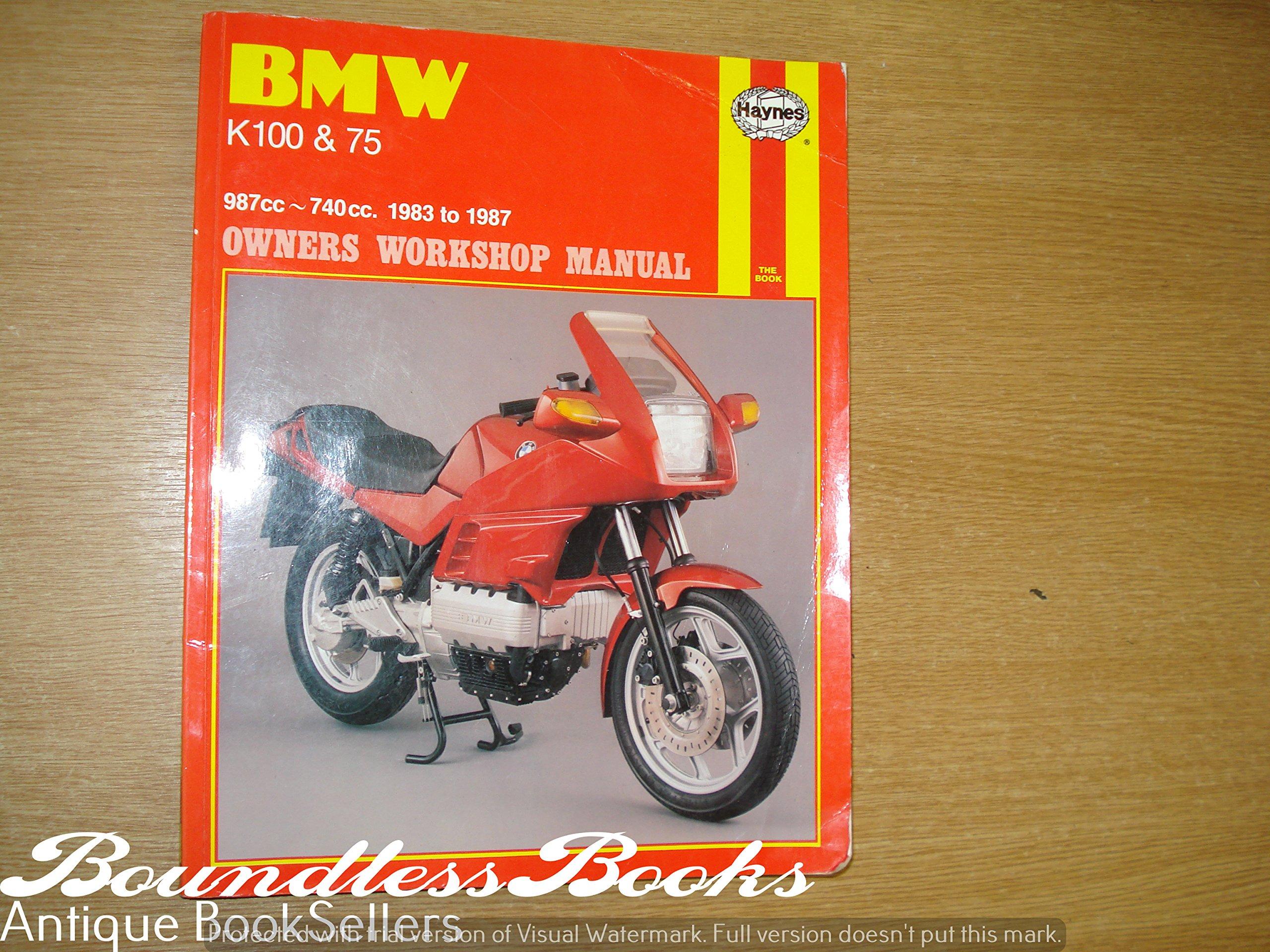 BMW K100 & 75 Owners Workshop Manual, 1983 to 1987 (987cc; 740 cc): Jeremy  Churchill: 9781850103738: Amazon.com: Books