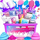 Original Stationery Unicorn Slime Kit Supplies Stuff for Girls Making Slime [Everything in One Box] Kids Can Make Unicorn, Gl