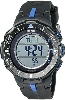 6e26aff20 Casio Men's PRG-300-1A2CR Pro Trek Triple-Sensor Tough Solar Black Digital