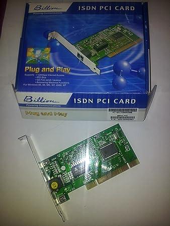 Billion ISDN PCMCIA Card Driver Download