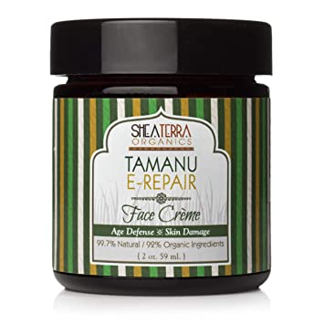 Shea Terra Organics - Tamanu-E Regeneration Face Creme, 2 oz cream Mavala Switzerland Eye-Lite Double Eye Contour Cream 15ml/0.6oz