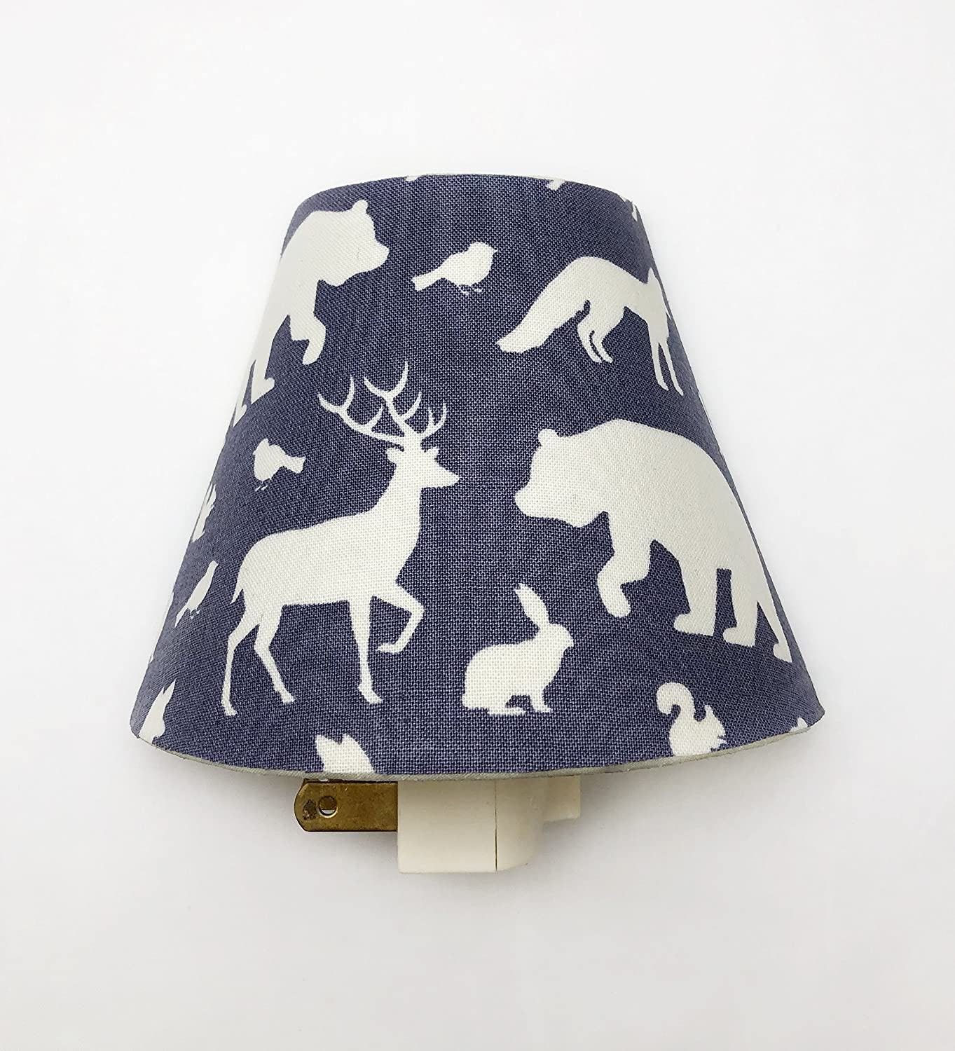 Into the Woods Plug In Night Light/Nursery Decor/Baby Shower Gift/Home Decor/Kid's Room/Lighting/Hallway Light/Housewarming/Deer/Elk