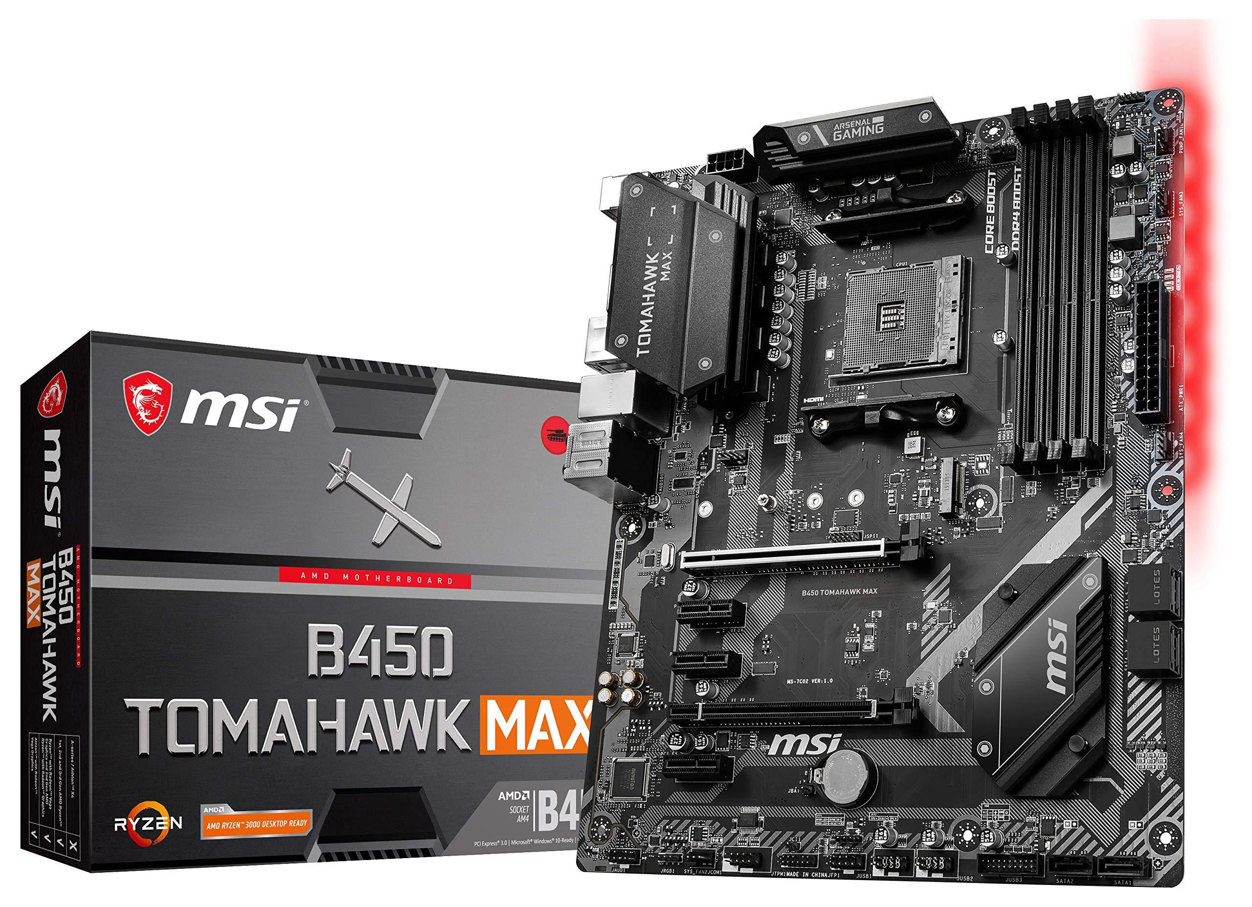 Motherboard MSI B450 TOMAHAWK Max Socket AM4