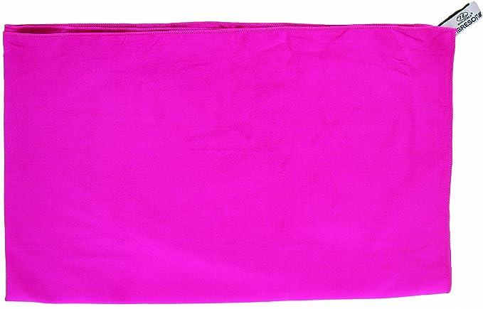 Highlander Handtuch Microfaser Badetuch Toalla de Secado rápido, Unisex, Rosa, XL