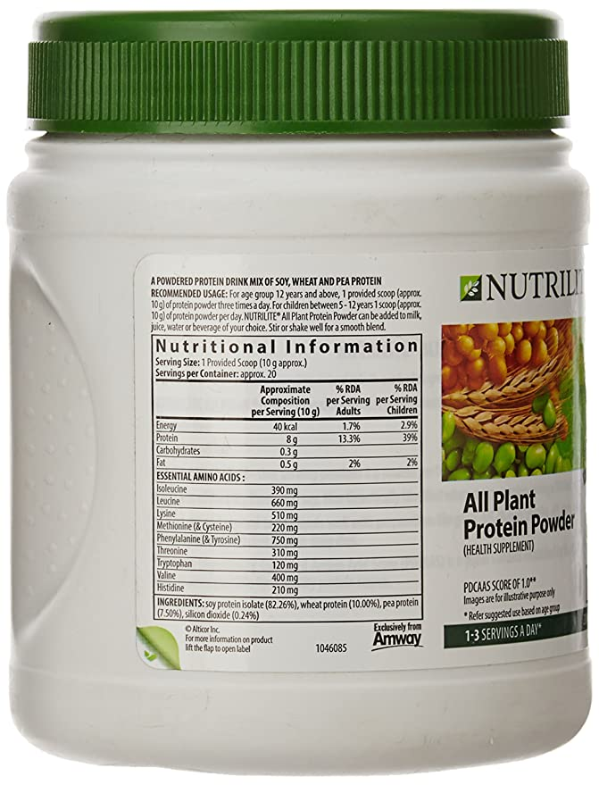 Buy Amway Nutrilite Protein Powder Pack, 200g Online at Low Prices