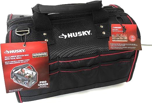 Amazon.com: Husky 16 en bolsa boca grande con pared de ...