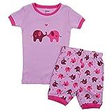 Leveret Shorts Matching Doll & Girl Elephant 2
