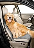 Duragear Bucket Dog Car Seat Cover-Eco-Friendly QuiltedReversible Slate/Sand