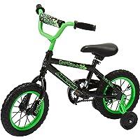 Dynacraft Magna Gravel Blaster - Bicicleta de Calle BMX para niños (30,5 cm), Color Negro y Verde