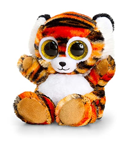 Keel Toys Sf0444 15cm Animotsu Tiger Plush Toy