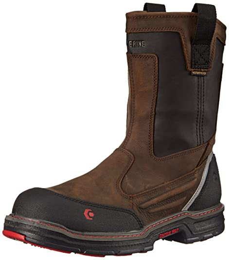 9de3a2db224 Wolverine Men's Overman NT 10 Inch WP Contour Welt Work Boot: Amazon ...