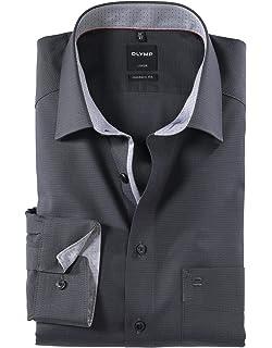 OLYMP Herren Hemd Modern Fit Langarm  Amazon.de  Bekleidung 9dc34c4736