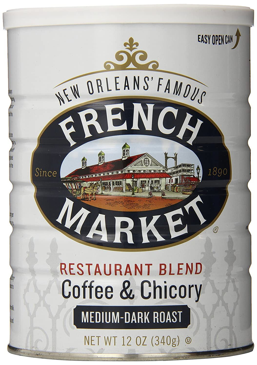 Chicory Coffee Amazoncom French Market Coffee And Chicory Restaurant Blend