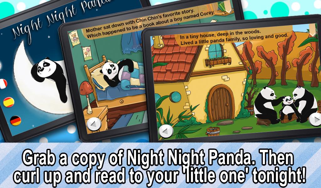 Noche Noche Panda - un libro para niños La hora de dormir