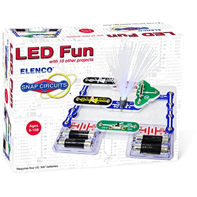 Elenco Electronics SCP-11 Snap Circuits LED Fun Science Kit: Toys & Games