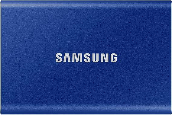 TALLA 1TB. Samsung Portable SSD T7 1000 GB Azul