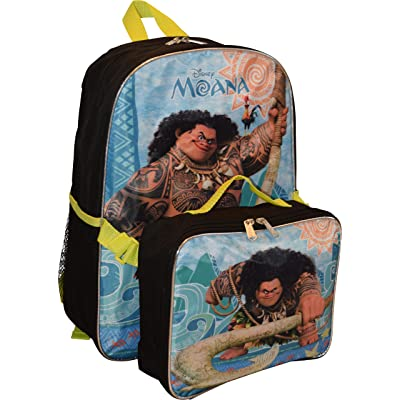 "Disney Unisex Maui 16"" Backpack W/ Detachable Lunch Box: Toys & Games"