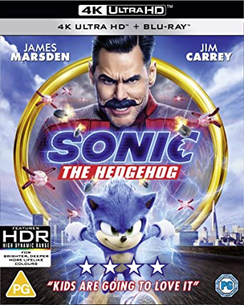 Amazon Com Sonic The Hedgehog 4k Blu Ray 2020 Region Free
