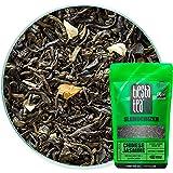 Classic Jasmine Green Tea | CHINESE JASMINE 1.8 Ounce Pouch by TIESTA TEA | Medium Caffeine | Loose Leaf Green Tea Slenderizer Blend | Non-GMO