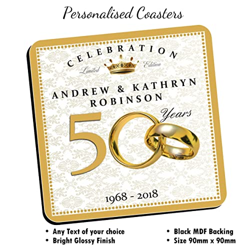 Golden Wedding Gift Ideas Uk: ROSE GOLDEN WEDDING-Golden Wedding Anniversary, 50th