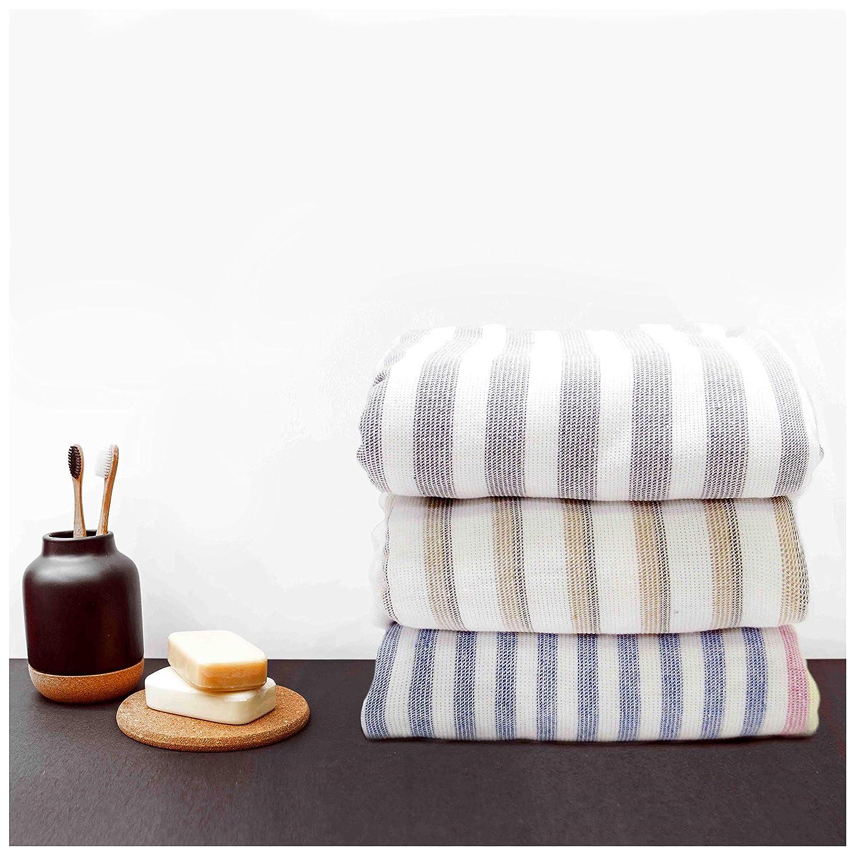 wei/ß, schwarz accessu/® Premium Hamamtuch Saunatuch Fouta Strandtuch Badetuch Handtuch