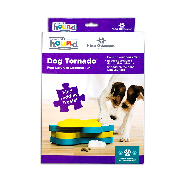 Pet Supplies Dog Tornado Treat Dispensing Dog Toy Brain and