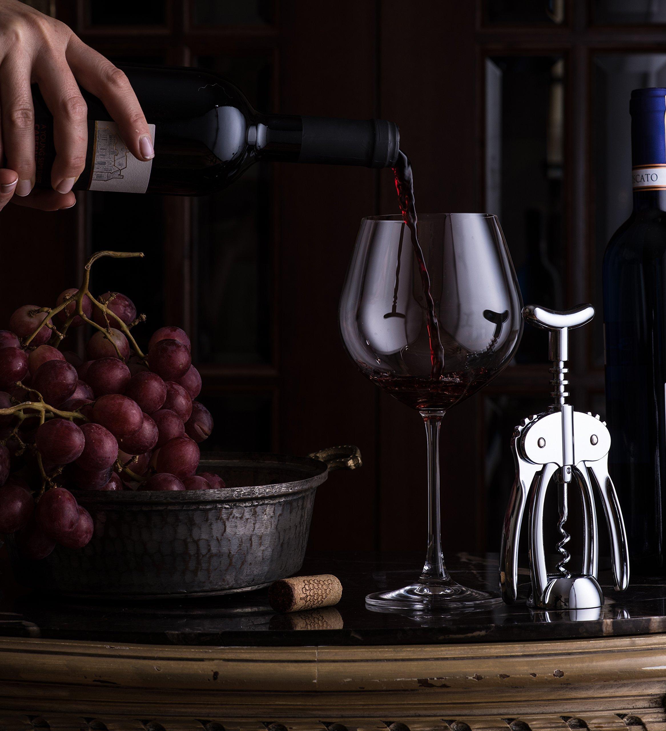 Bellemain Premium Wing Corkscrew Wine Opener Heavy-duty nonstick by Bellemain (Image #4)