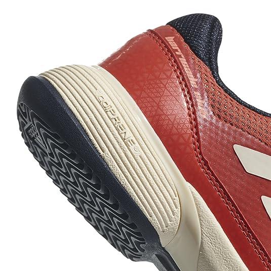 san francisco 153d5 01a06 adidas Barricade Club Xj, Chaussures de Tennis Mixte Enfant, Orange  (MaosnoTincru