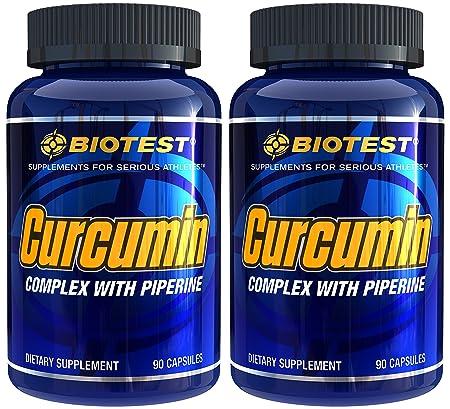 Curcumin, 2 Pack 180 Capsules