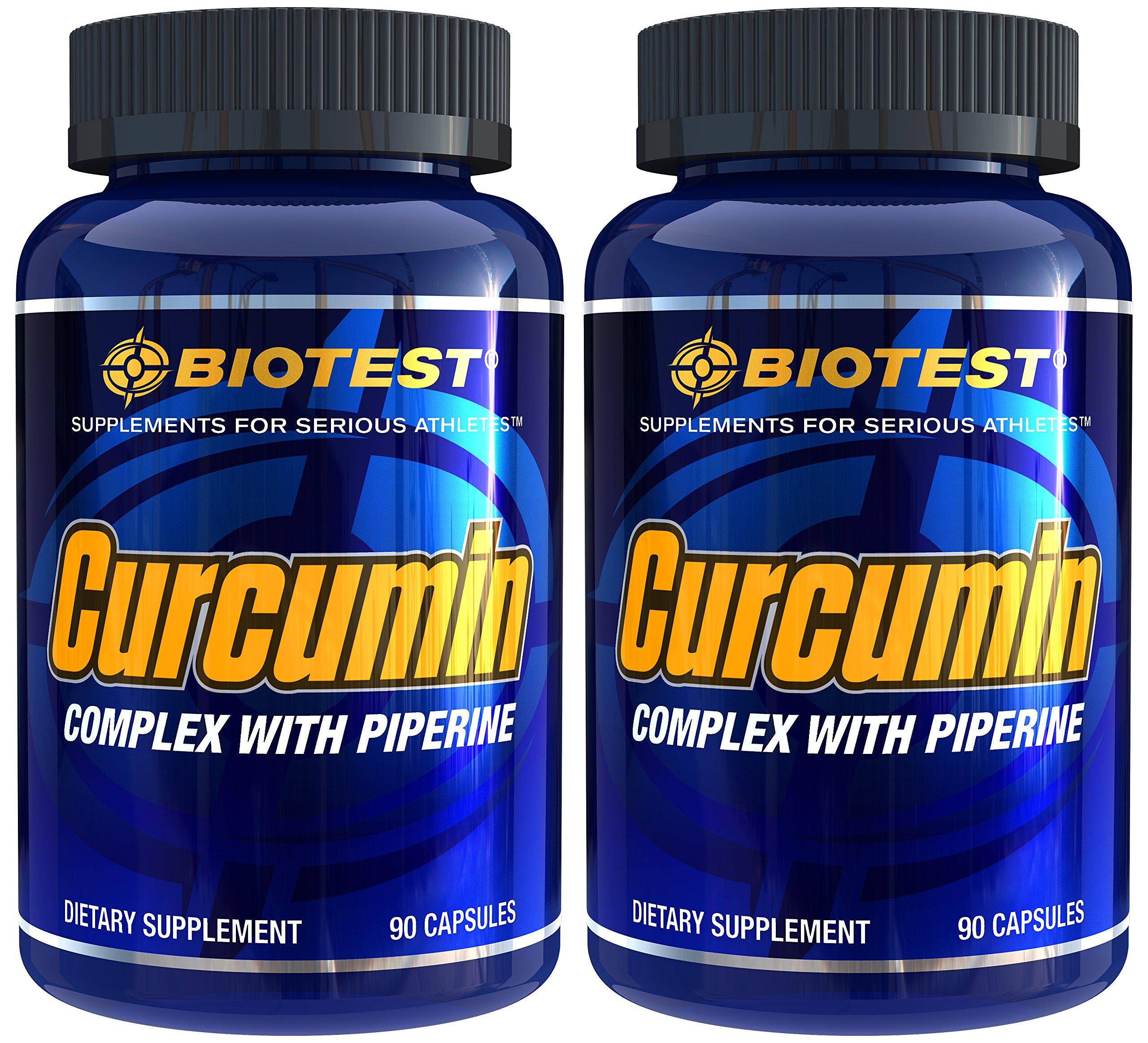 Curcumin, 2 Pack (180 Capsules)