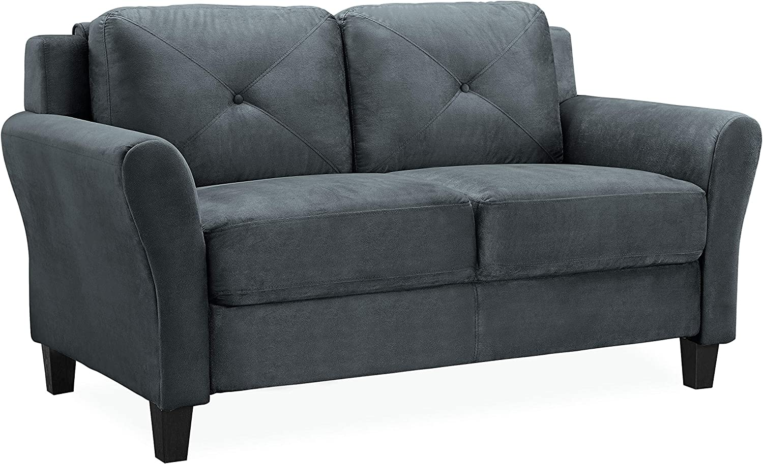 Lifestyle Solutions Collection Grayson Micro-fabric Loveseat, 57.87