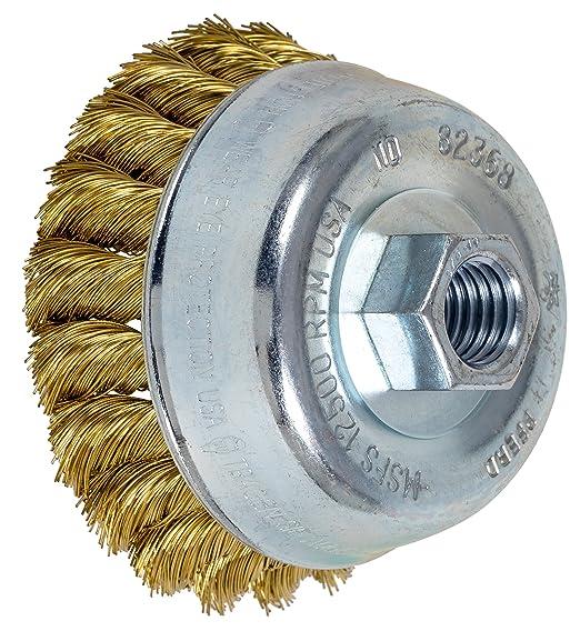 PFERD 1-1//4 Metal Made CHIP Brush Stainless 85138 12//Each