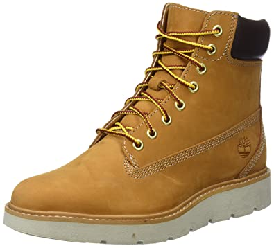56e80f36c8b Timberland Womens Kenniston 6 inch Wheat Nubuck Boots 6.5 US