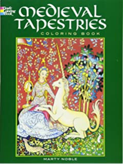 Medieval Tapestries Coloring Book Dover Fashion