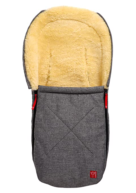 Kaiser Emma – bolsa con oveja para cochecitos y asientos de coche (Antracita Melange, 6534170)