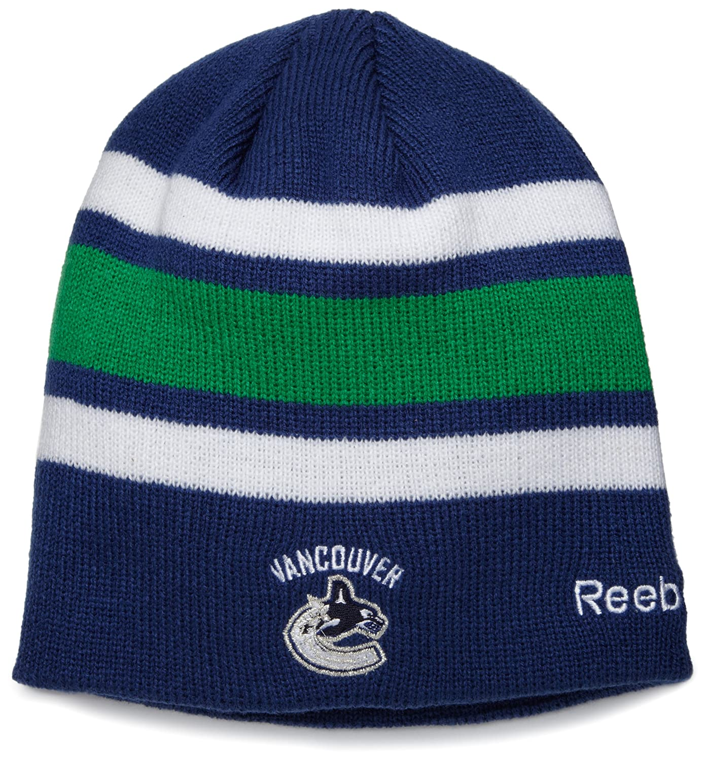 ebf2ba4452b ... italy amazon vancouver canucks official team player knit hat sports fan  beanies clothing bfc86 12189