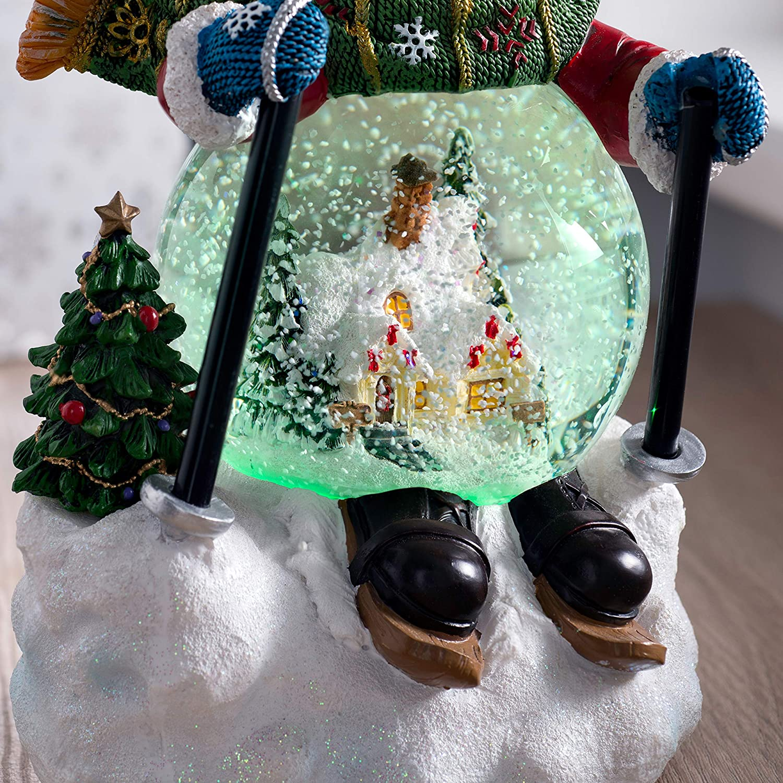 21 cm Mehrfarbig WeRChristmas Schneekugel