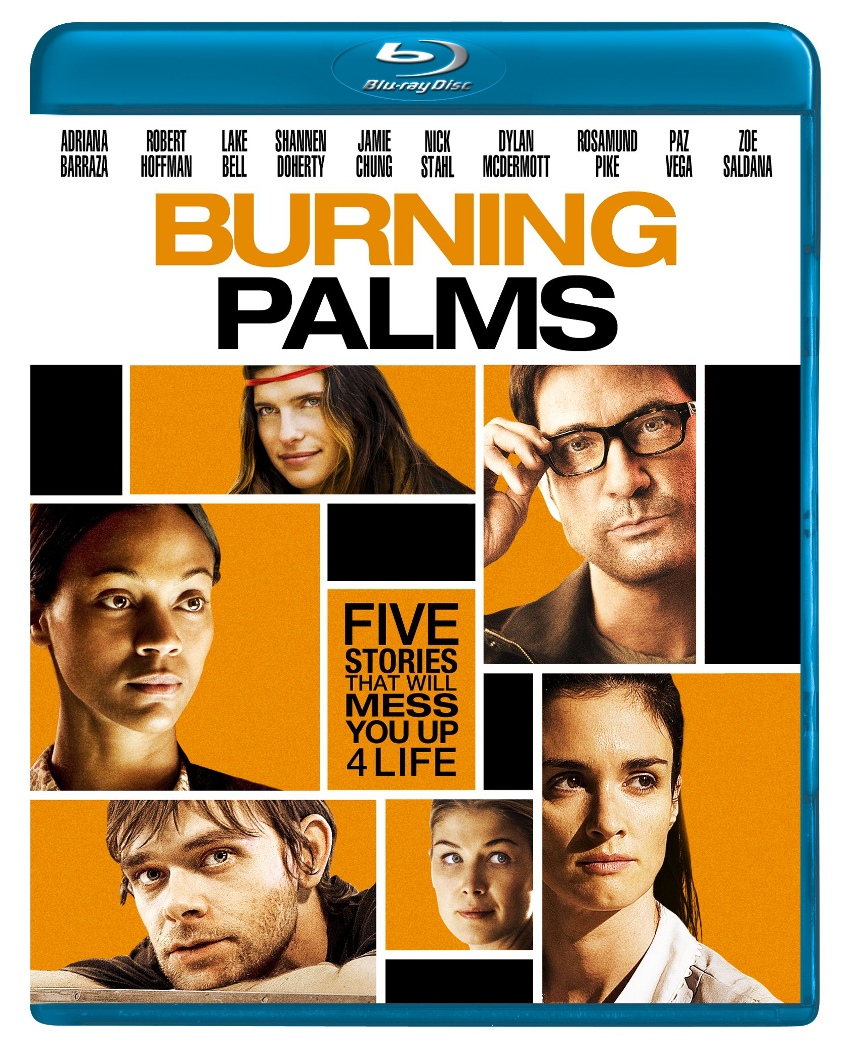 Blu-ray : Burning Palms (Widescreen, Dolby, AC-3, Digital Theater System)