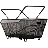 Tubus Korb Bask-it Trunk - Cesta de bicicleta, 51 x 30 x 20 cm, 28 l,  color negro