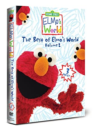 Elmos Vaccine Video Is Cutest Argument >> Amazon Com Elmo S World Box Set Best Of Elmo S World Two Elmo