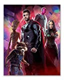 Marvels Avengers Infinity War Poster Wall Decor