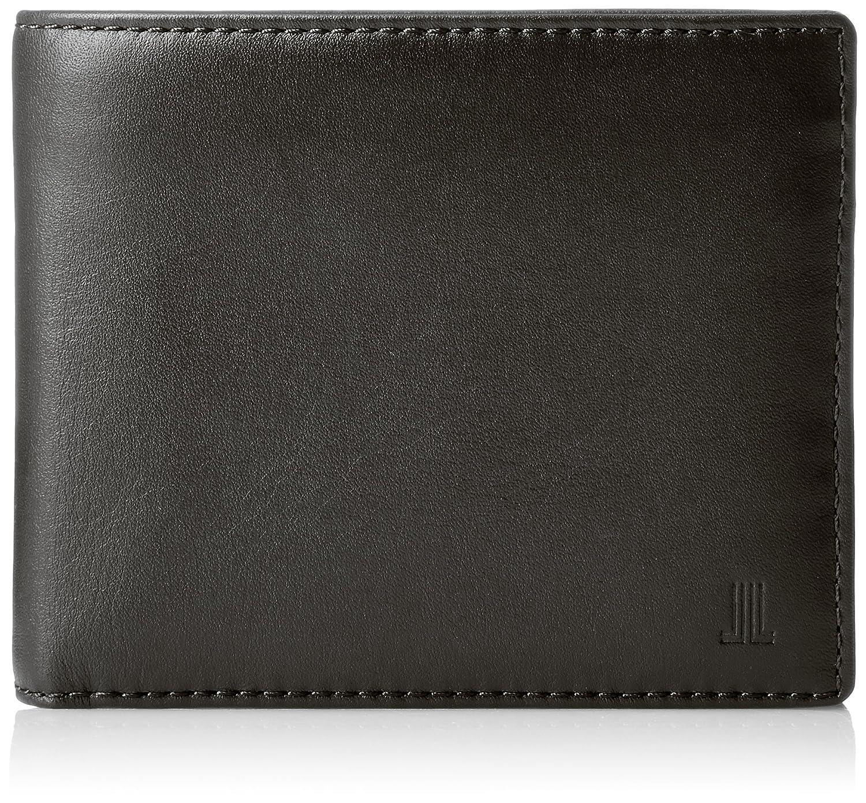 [ランバンコレクション] エンボス 二つ折り財布  JLMW7ES2 B0784G95VH ブラック ブラック