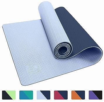 IUGA antideslizante Yoga Mat, gratis bolso de la Yoga y ...