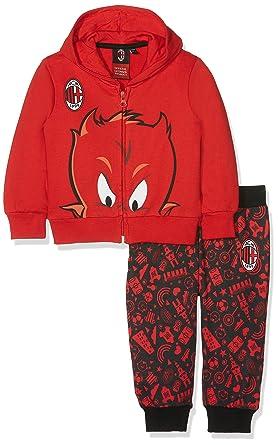 Milan (Kids Shoes) M007/AZ Chándal, Rojo (Rosso 465), 80 cm(Talla ...