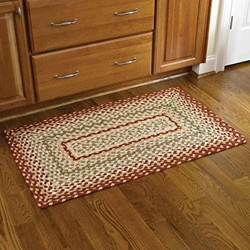 Park Designs Mill Village – Braided Rectangle Rug 27 x 45