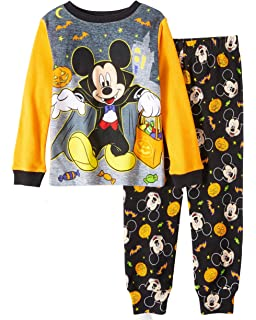 Mickey Mouse Pajamas 2-Piece Halloween Mummy Wrapped PJ Set for Toddlers