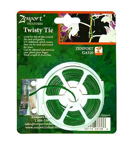 Amazon.com: Zenport ga520 Jardín Twisty Planta Tie, 65-feet ...