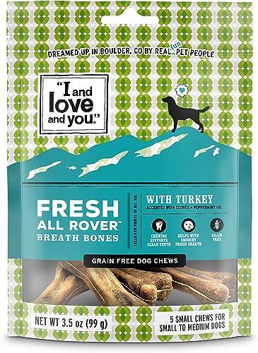 I and love and you Fresh All Rover Dental Bones – Grain Free Dog Treats
