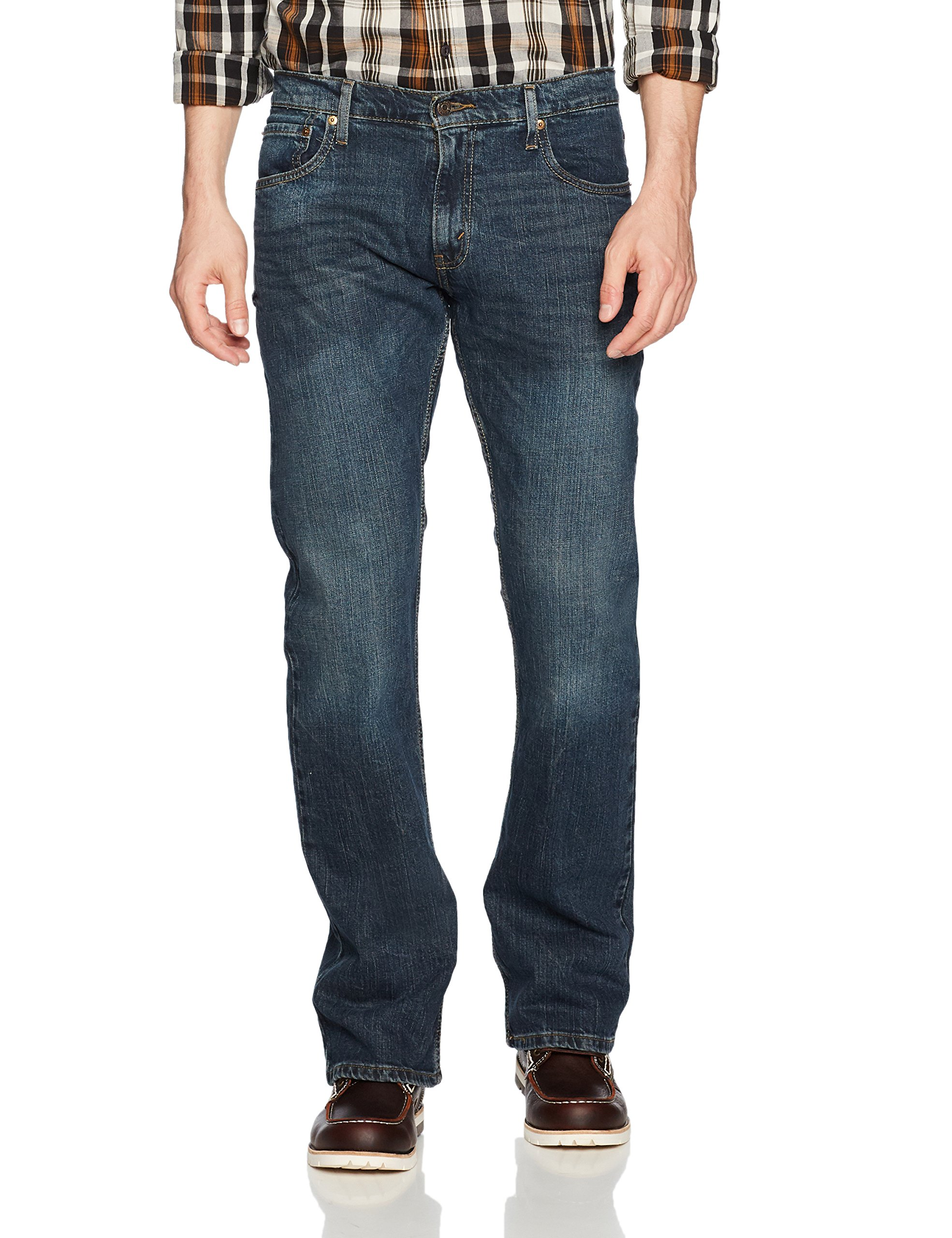 Signature by Levi Strauss & Co. Gold Label Men's Bootcut Fit Jeans, Headlands, 33W x 30L